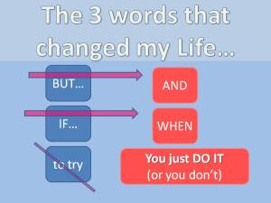 the 3 words that changed my life - roseline deleu