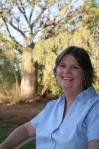 Tina Higgins artist with Baobab