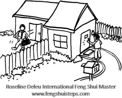 Feng shui laundry feng shui steps for Feng shui back door