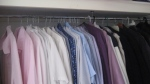 wardrobe well organised