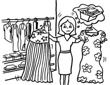Feng Shui wardrobe