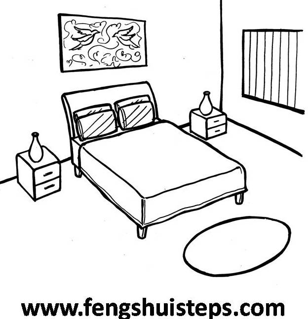 Easy feng shui steps the master bedroom part 1 feng for Draw a bedroom layout online