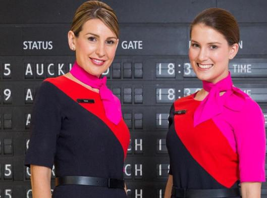 Qantas 2 ladies uniform