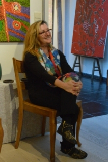 Roseline Deleu aboriginal gallery Brussels xs