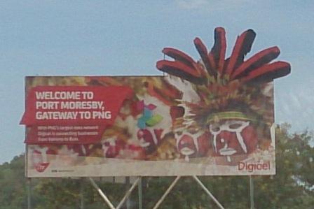 PNG digicel sign