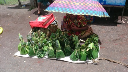 PNG selling their harvest
